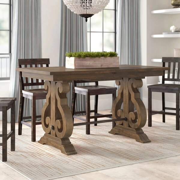 West Point Counter Height Extendable Dining Table by Greyleigh