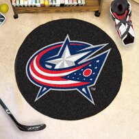 NHL - NCAAumbus Blue Jackets Puck Doormat by FANMATS