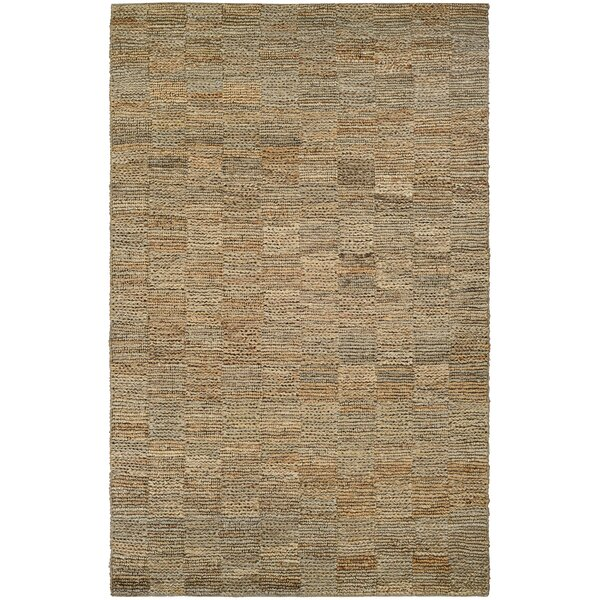 Gilles Hand-Crafted Natural Area Rug by Bungalow Rose