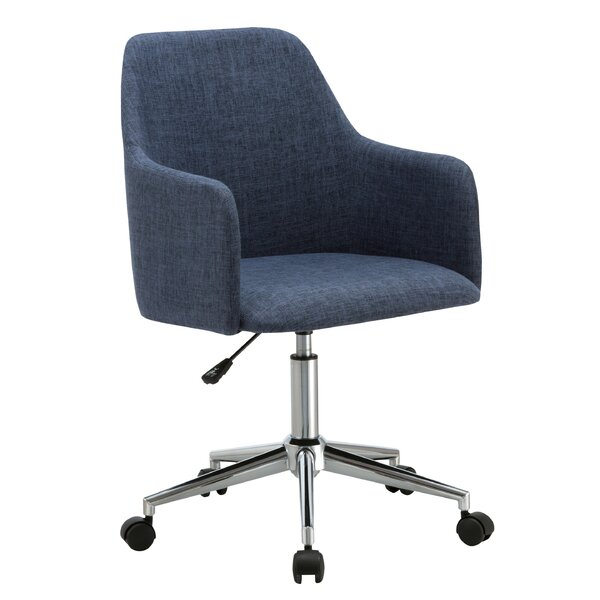 Justice Mid-Back Desk Chair by Langley Street
