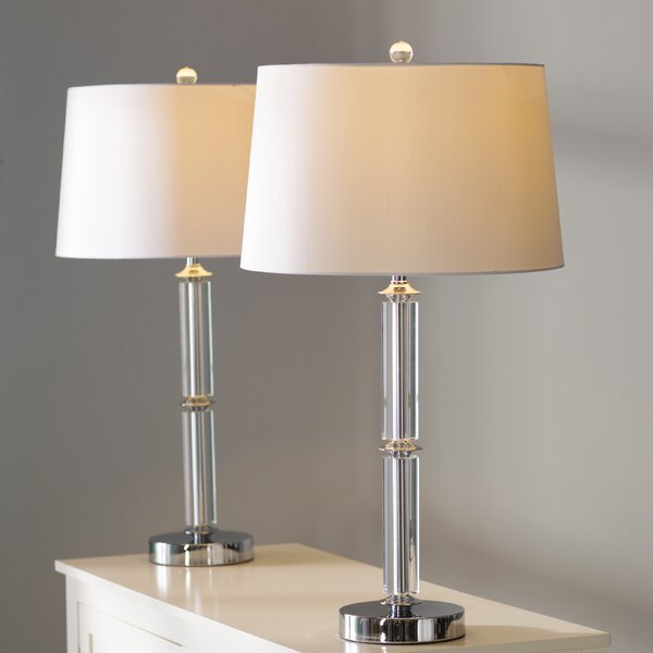 Heslin Horne 29.5 Table Lamp (Set of 2) by House of Hampton