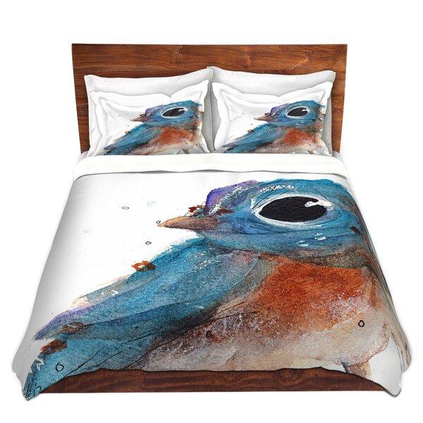 Martines Dawn Derman Little Bluebird Microfiber Duvet Covers