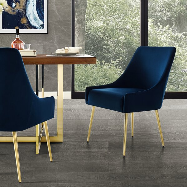 Bostwick Upholstered Dining Chair (Set Of 2) By Everly Quinn
