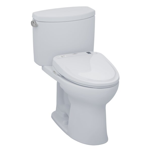 Drake® II 1.28 GPF Elongated Two-Piece Toilet by Toto
