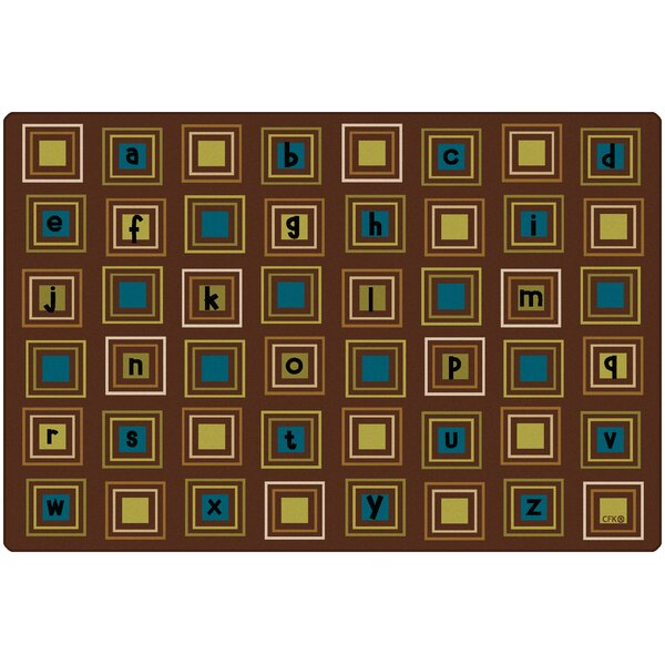 Camila Squares Kids Rug by Zoomie Kids