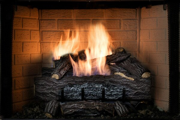 Four Seasons Vent-Free Log Set by SureHeat