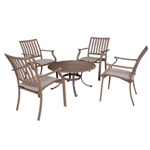 Island Breeze 5 Piece Dining Set by Panama Jack Outdoor
