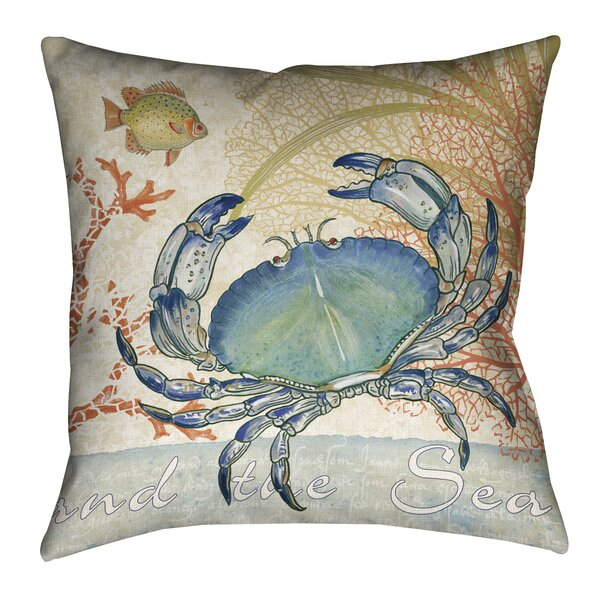 Theodora Oceana Outdoor Throw Pillow