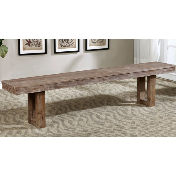 Grenadille Wood Bench by August Grove