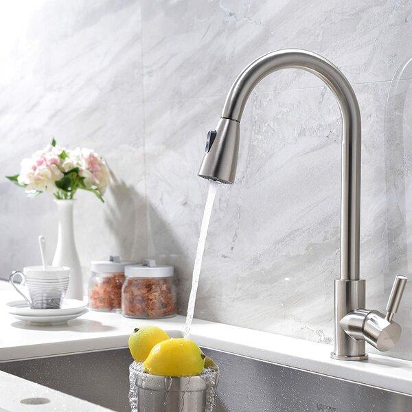 Pull Down Single Handle Kitchen Faucet by VAPSINT VAPSINT