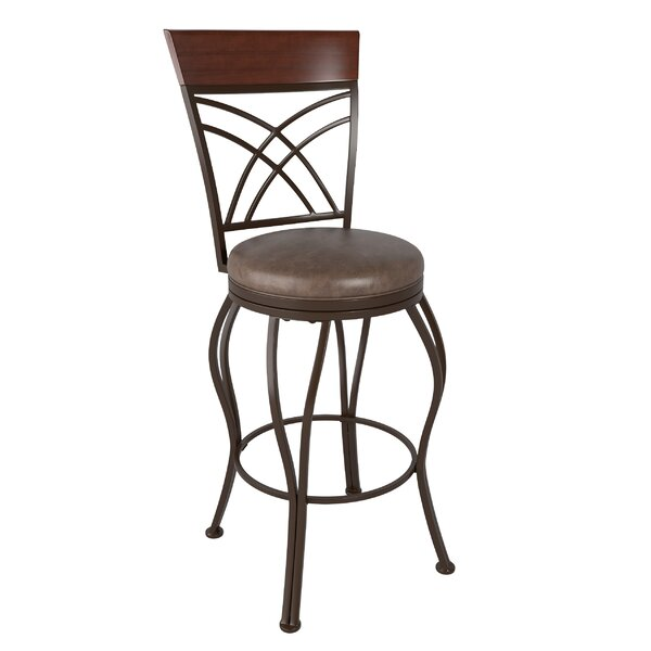 Gravity 30 Swivel Bar Stool by Red Barrel Studio