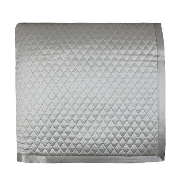 Silk Diamond Single Coverlet