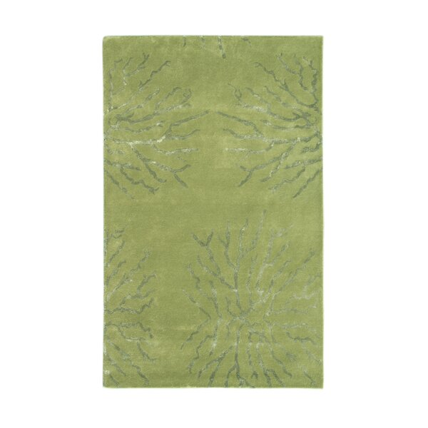 Citadel Green Rug by Noble House