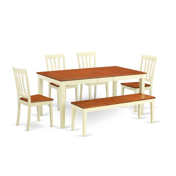 Napoli 6 Piece Dining Set by Wooden Importers