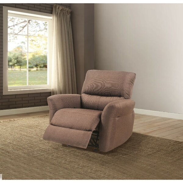 Mummert Upholstered Manual Glider Recliner [Red Barrel Studio]