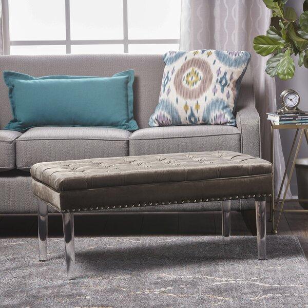 Rowles Upholstered Bench by Mercer41 Mercer41