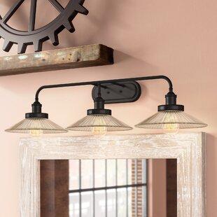 Best Lisbeth 3-Light Vanity Light By Williston Forge