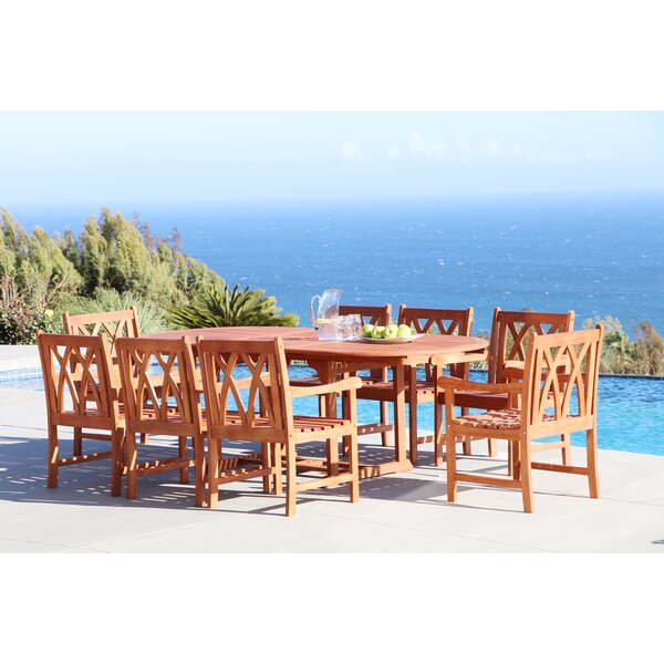 Shanklin 9 Piece Dining Set by Sol 72 Outdoor