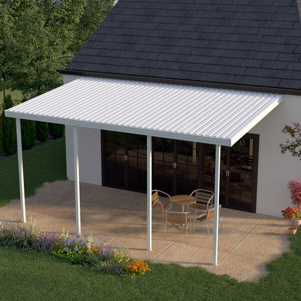 34ft. W x 8ft. D Patio Awning by Heritage Patios