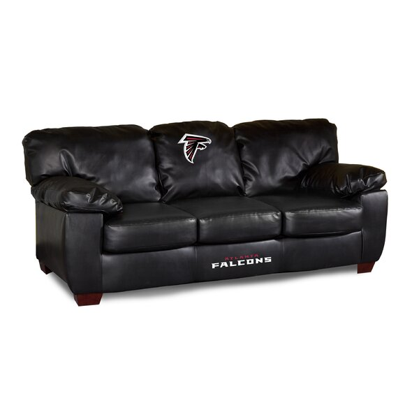 NFL Classic Leather Sofa by Imperial International