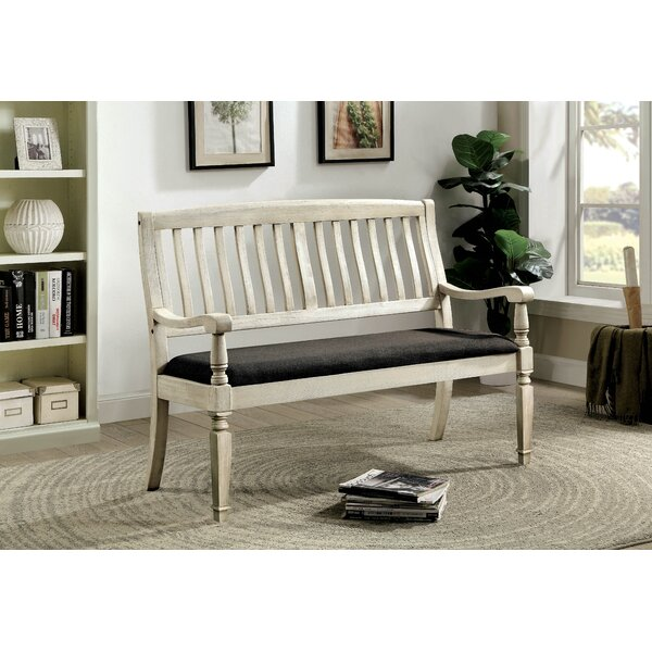 Tomas Upholstered Bench by Ophelia & Co. Ophelia & Co.
