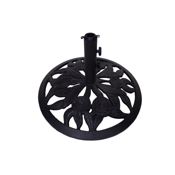 Rosey Cast Iron Free Standing Umbrella Base by California Outdoor Designs