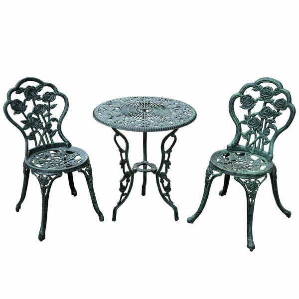3 Piece Bistro Set by Outsunny