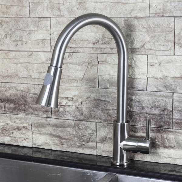 Luxurious Single Handle Kitchen Faucet By AA Warehousing