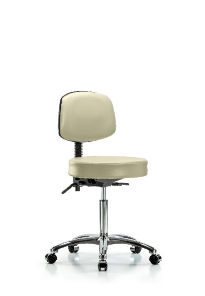 Livia Bench Height Adjustable Lab Stool by Symple Stuff