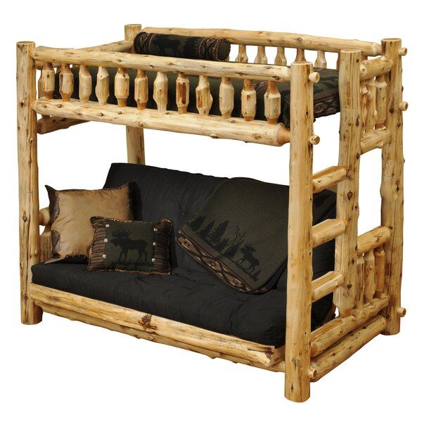 Lytle Twin Futon Bunk Bed by Loon Peak