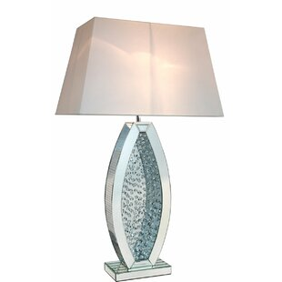 Mirror table lamp wayfair winston 98cm table lamp aloadofball