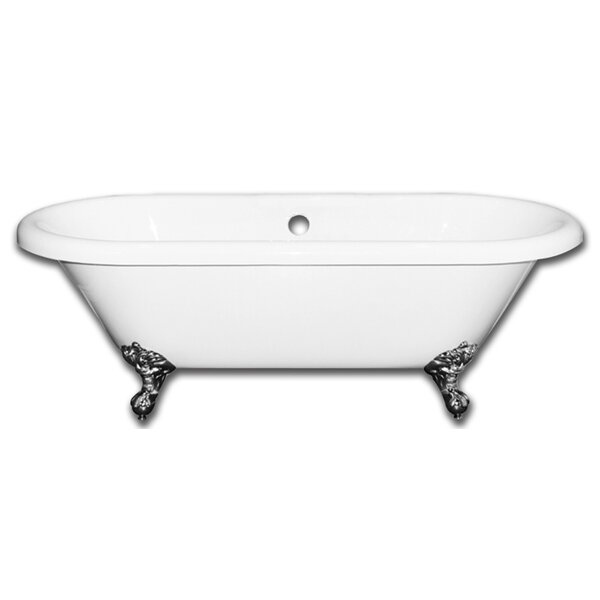 Vernon Clawfoot 70 x 31 Soaking Bathtub by Alcott Hill