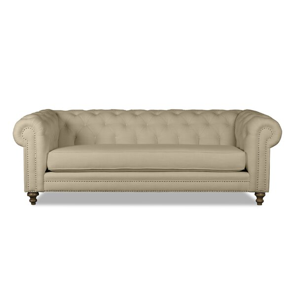 Chesterfield 72-inch Rolled Arm Sofa by South Cone Home South Cone Home