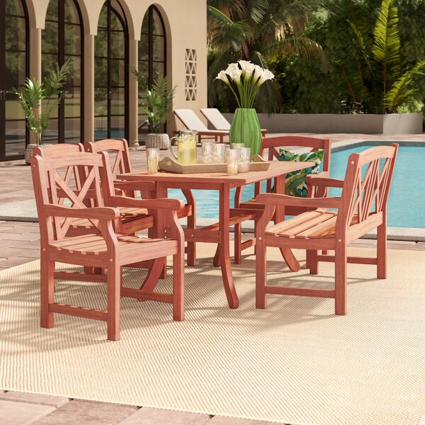 Monterry 6 Piece Dining Set by Beachcrest Home