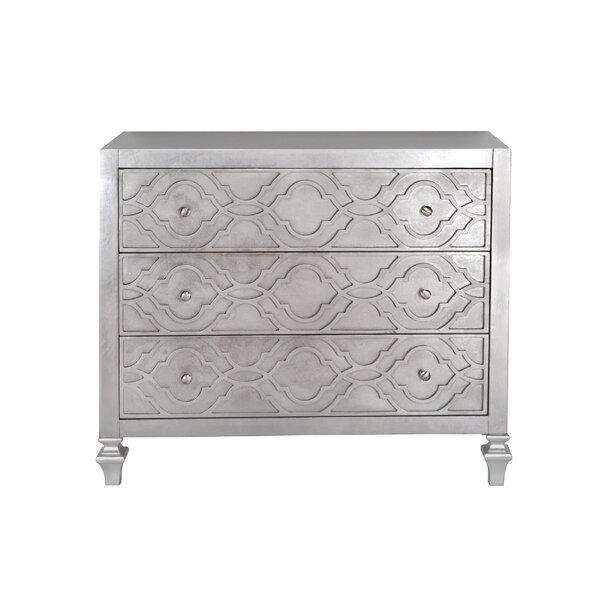 Klingensmith 3 Drawer Accent Chest by House of Hampton House of Hampton