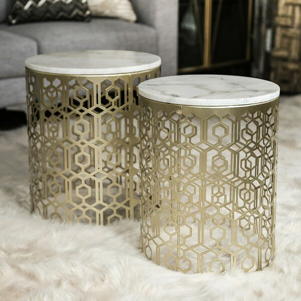 2 Piece Nesting Tables (Set of 2) by Urban Trends