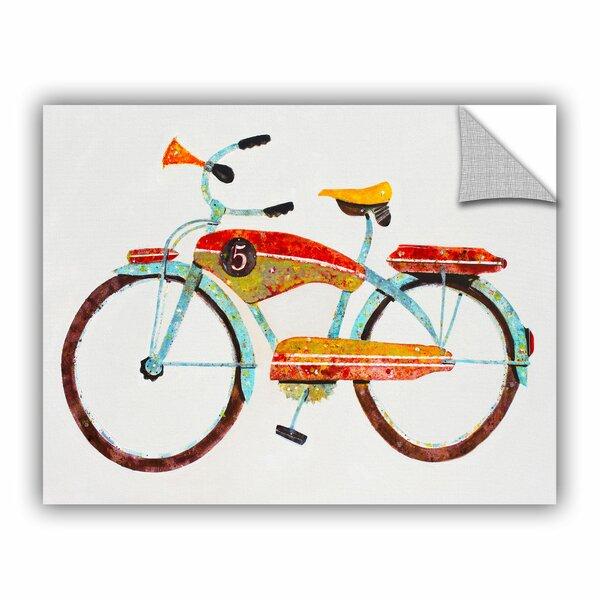 Bike No. 5 Canvas Art by Viv + Rae