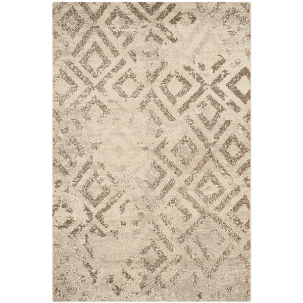 Bennett Ivory/Taupe Area Rug by Union Rustic