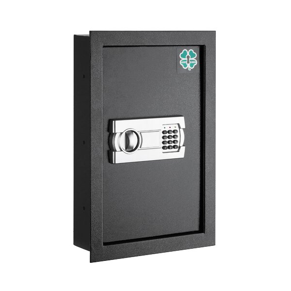 Lucky Guard Wall Safe with Electronic Lock by ParagonSafes