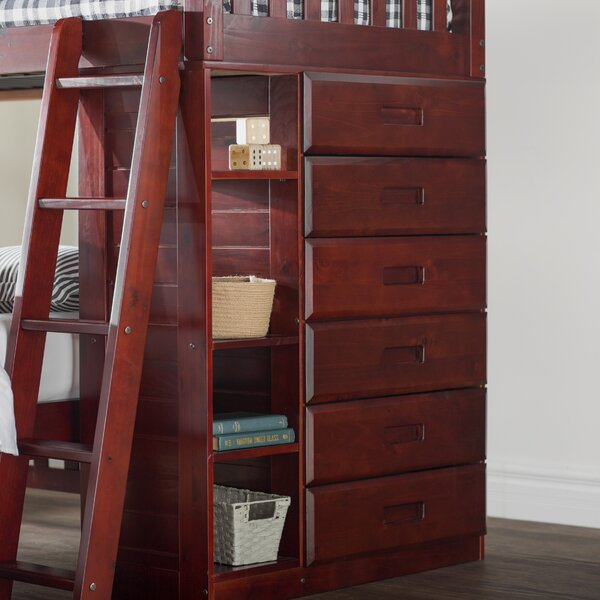 Kroger Twin over Full Bunk Bed by Viv + Rae