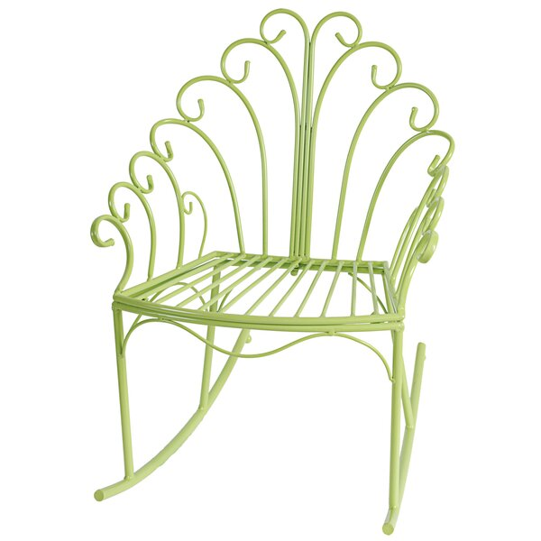 Brookdale Patio Rocking Chair by Bungalow Rose