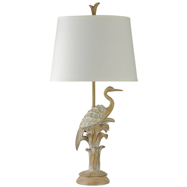 Hookton Bird of the Beach 36 Table Lamp by Bay Isle Home