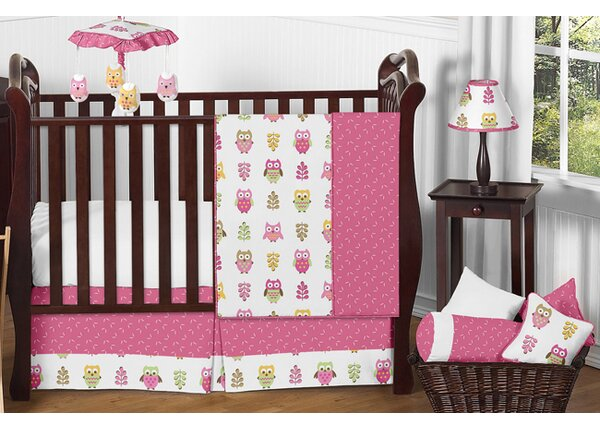 Happy Owl 11 Piece Crib Bedding Set by Sweet Jojo Designs