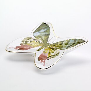 Buy luxury Butterfly Garden Soap Dish By Avanti Linens