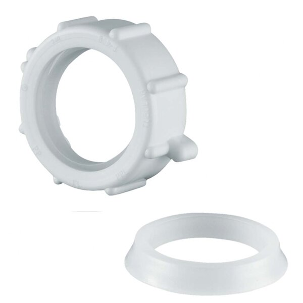 Slip Joint Nut and Washer by Waxman