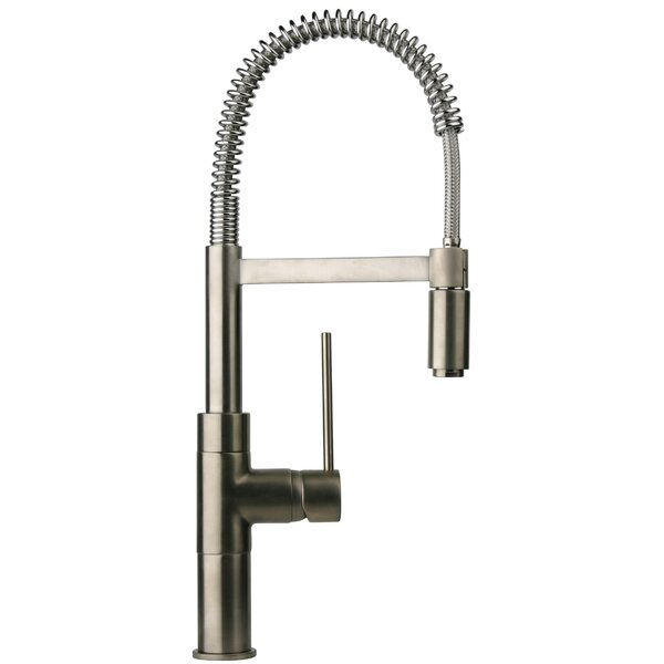 Elba Pull Down Touch Single Handle Kitchen Faucet by LaToscana