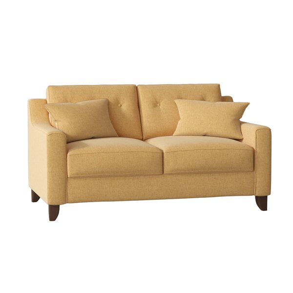 Modern Collection Logan Loveseat by Wayfair Custom Upholstery by Wayfair Custom Upholstery��