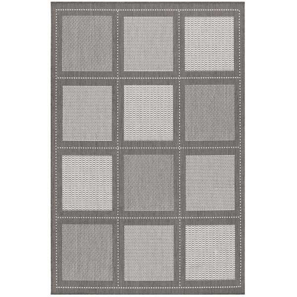 Westlund Gray Indoor/Outdoor Area Rug by Charlton Home