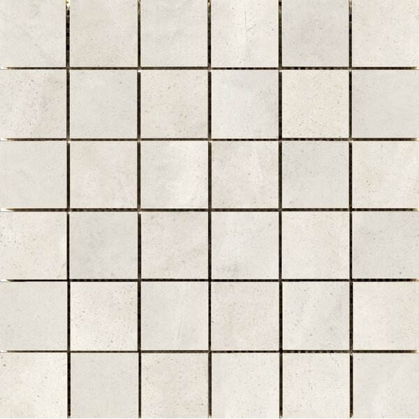 Quest Polished 2 x 2 Porcelain Mosaic Tile in Silver by Emser Tile