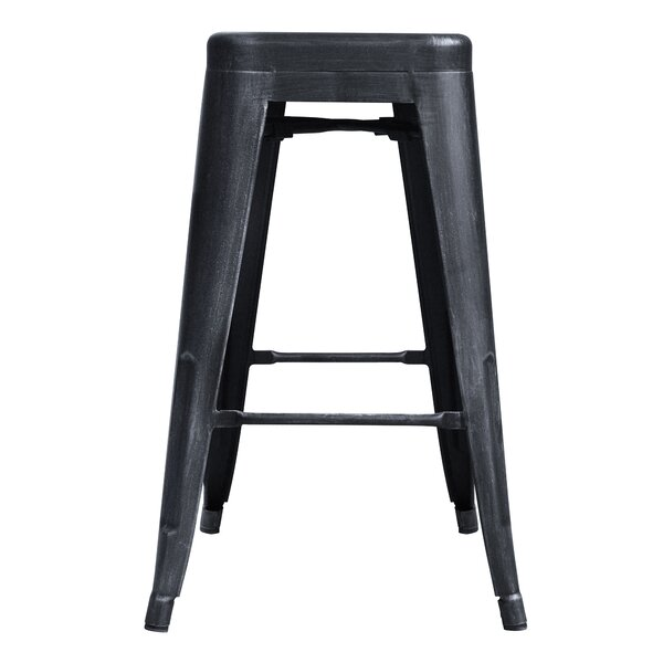 Glass 26 Bar Stool by Williston Forge